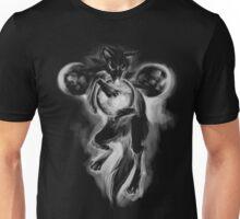 Three Moon Wolf- Full Moon Unisex T-Shirt