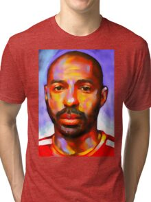 Football legend - Thierry Henry Tri-blend T-Shirt