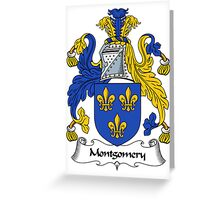 Montgomery Coat of Arms / Montgomery Family Crest Greeting Card