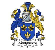 Montgomery Coat of Arms / Montgomery Family Crest Photographic Print