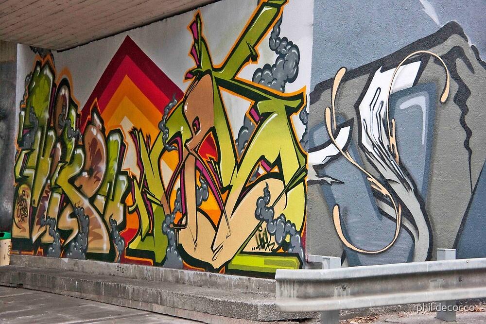 Bratislava Graffiti by phil decocco