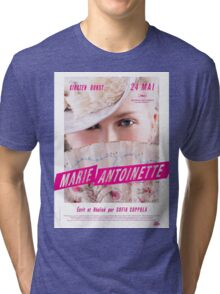 Marie Antoinette French Movie Poster Tri-blend T-Shirt