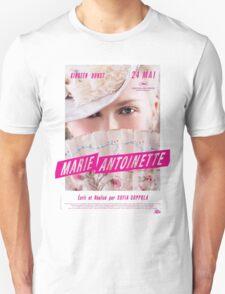 Marie Antoinette French Movie Poster T-Shirt