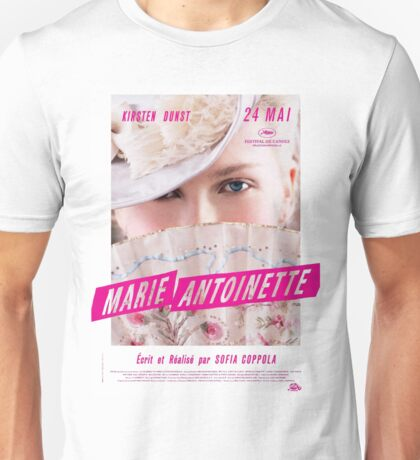 Marie Antoinette French Movie Poster Unisex T-Shirt
