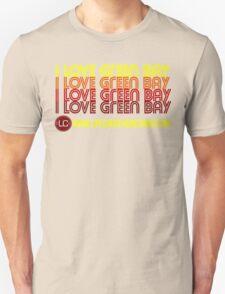 I Love Green Bay - Red Unisex T-Shirt