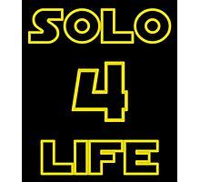 Solo 4 Life Photographic Print
