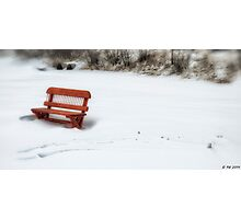 Reserved For Winter Photographic Print