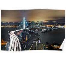 San Francisco-Oakland Bay Bridge Poster