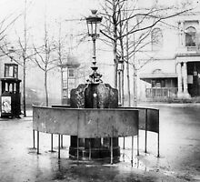 Vespasienne (public urinal) on the Grands Boulevards, Paris by Bridgeman Art Library