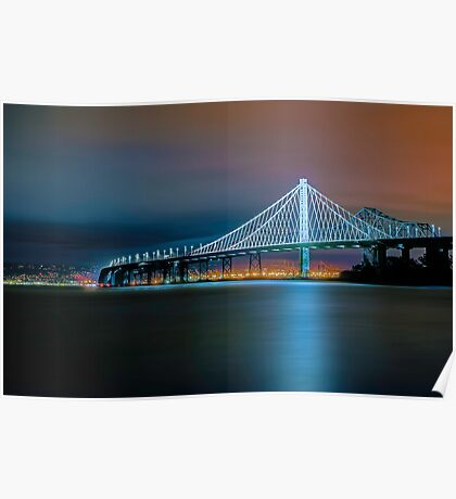 San Francisco-Oakland Bay Bridge Eastern Span Poster