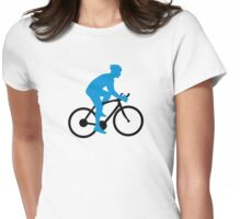 Bike cycling Womens Fitted T-Shirt