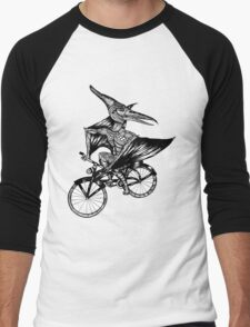 Pterosaur Bicycle Men's Baseball ¾ T-Shirt