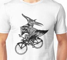 Pterosaur Bicycle Unisex T-Shirt