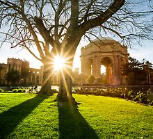Palace of Fine Arts in San Francisco by Jerome Obille