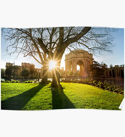 Palace of Fine Arts in San Francisco Poster