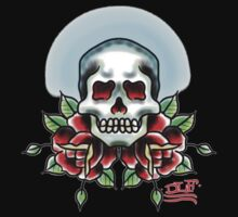 skull n roses by EDLFDESIGNS