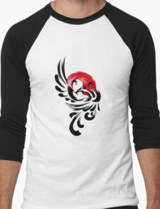 Brush Phoenix Rising  Men's Baseball ¾ T-Shirt