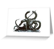 Titanite Demon Greeting Card