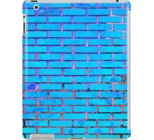 Blue and pinkish bricks iPad Case/Skin