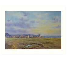 Cley Mill, Cley-Next-To-Sea, Norfolk Art Print
