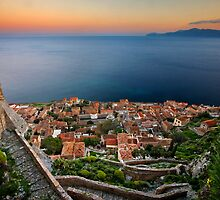 The magic of Monemvasia by Hercules Milas