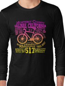 Doug Chandler Performance (Gradient: Pink to Yellow) Long Sleeve T-Shirt