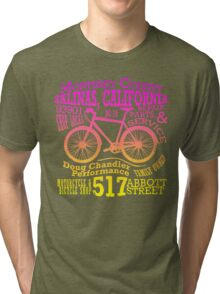 Doug Chandler Performance (Gradient: Pink to Yellow) Tri-blend T-Shirt
