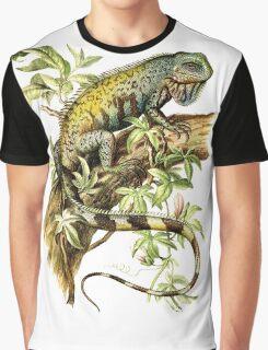 Vintage Iguana Graphic T-Shirt