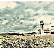 Berlin tempelhof airport by Davey Wallis
