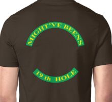 Golfing Oldie Might Have Beens Unisex T-Shirt