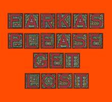Farkas Please Get Lost Kids Tee