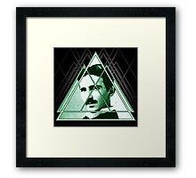 Tri-Tesla Framed Print