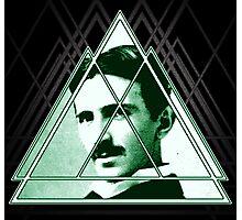 Tri-Tesla Photographic Print