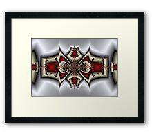 Jeweled Crown Framed Print