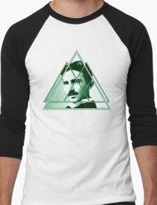 Tri-Tesla Men's Baseball ¾ T-Shirt
