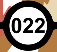 Pokeball 022 Sticker