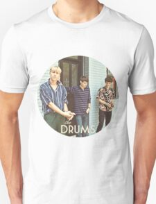 The Drums ((Circle)) T-Shirt