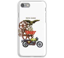 moto guzzi v7 sport iPhone Case/Skin