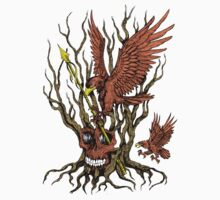 "Skull Tree ""Spread Wing Eagles"" Skeletal Tree Awersome! by artkrannie"