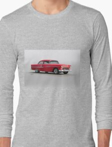 1955 Chevrolet 150 Post Coupe Long Sleeve T-Shirt