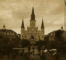St Louis Cathedral - New Orleans  by andreaanderegg