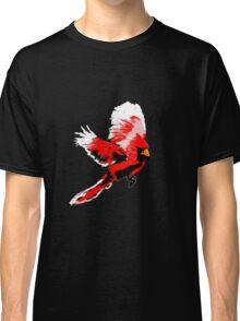Painted Cardinal Design Classic T-Shirt