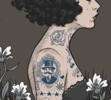 La Femme Tattoue Sticker