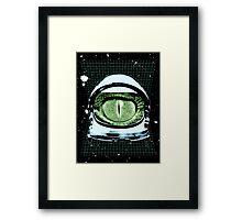 Astro Reptoid  Framed Print
