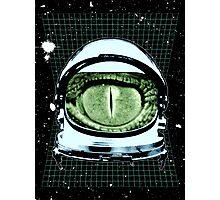 Astro Reptoid  Photographic Print