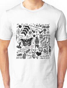 1D Tattoos Updated (2015) Unisex T-Shirt