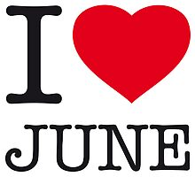 I ♥ JUNE by eyesblau