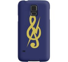 the almighty treble clef. Samsung Galaxy Case/Skin