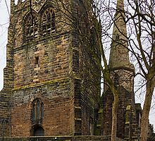 Ormskirk Church by Beverley Goodwin