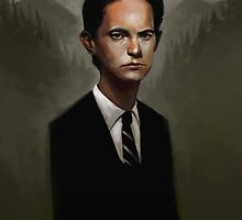 Dale Cooper by rudyfaber